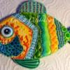 Flashy Fish by www.cookiecelebration.com