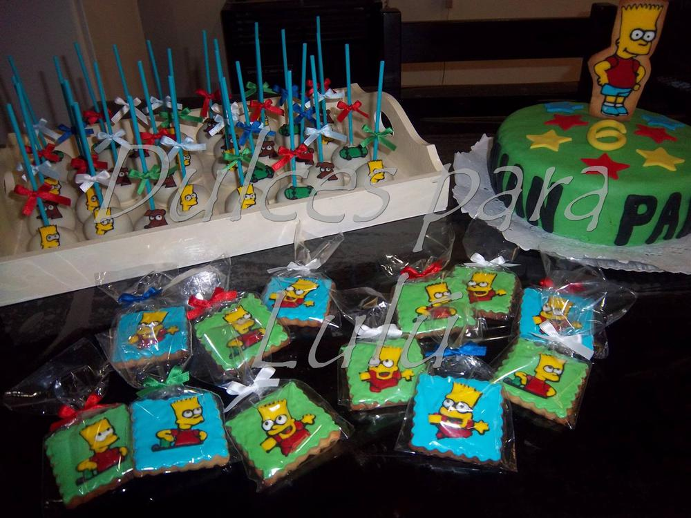 Excellent Bart Simpson Cookie Connection Personalised Birthday Cards Veneteletsinfo