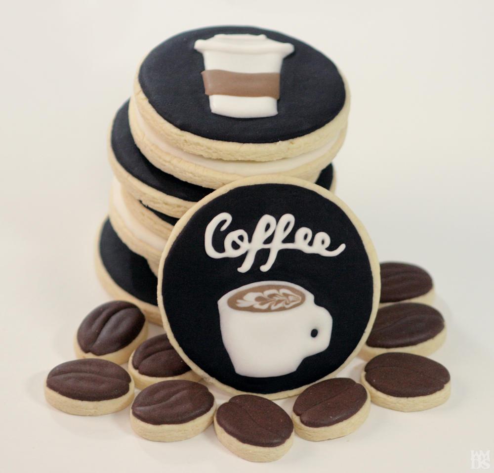 Coffee Themed Cookies