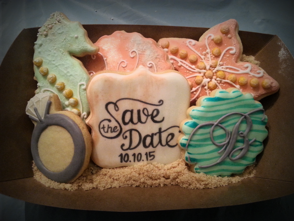 Save the Date Cookie Sets