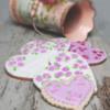 Rose Vintage Hearts