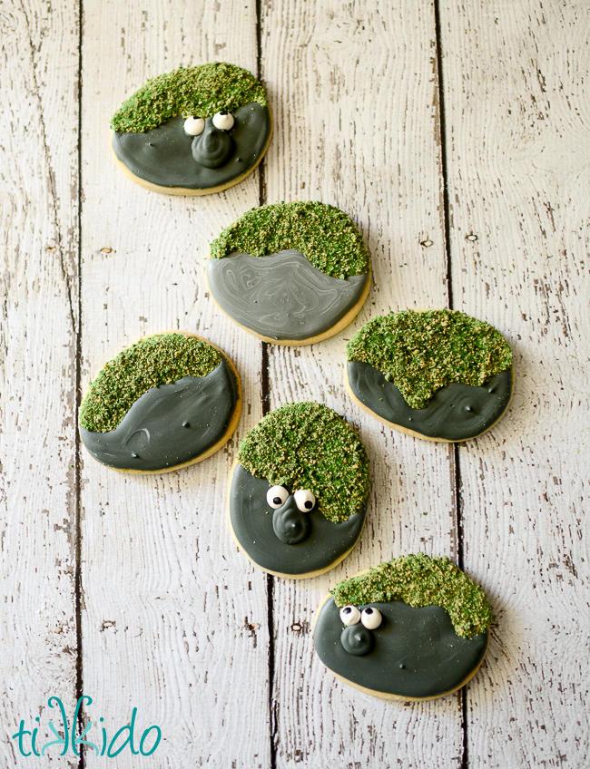 FROZEN Rock Troll Cookies