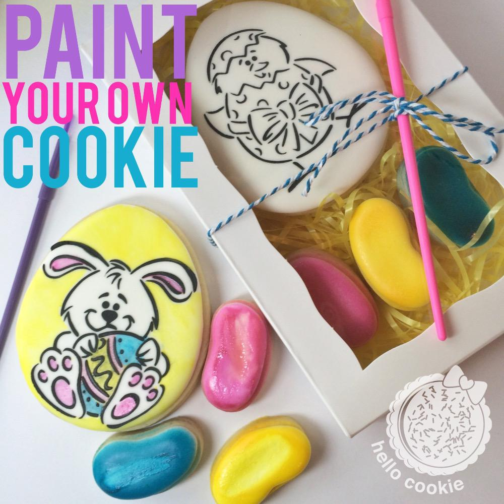 paint your own cookie cookie connection