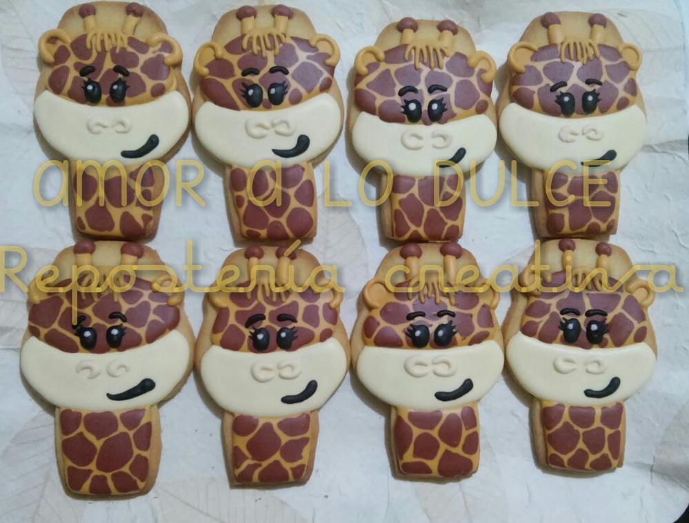 Smiley Giraffes
