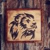 Rustic Lion Cookie
