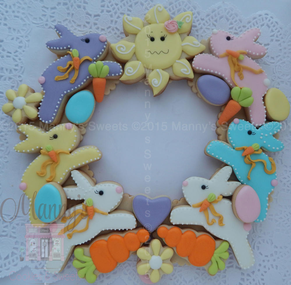 Easter Wreath | Cookie Connection