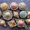 Vintage brooch cookies