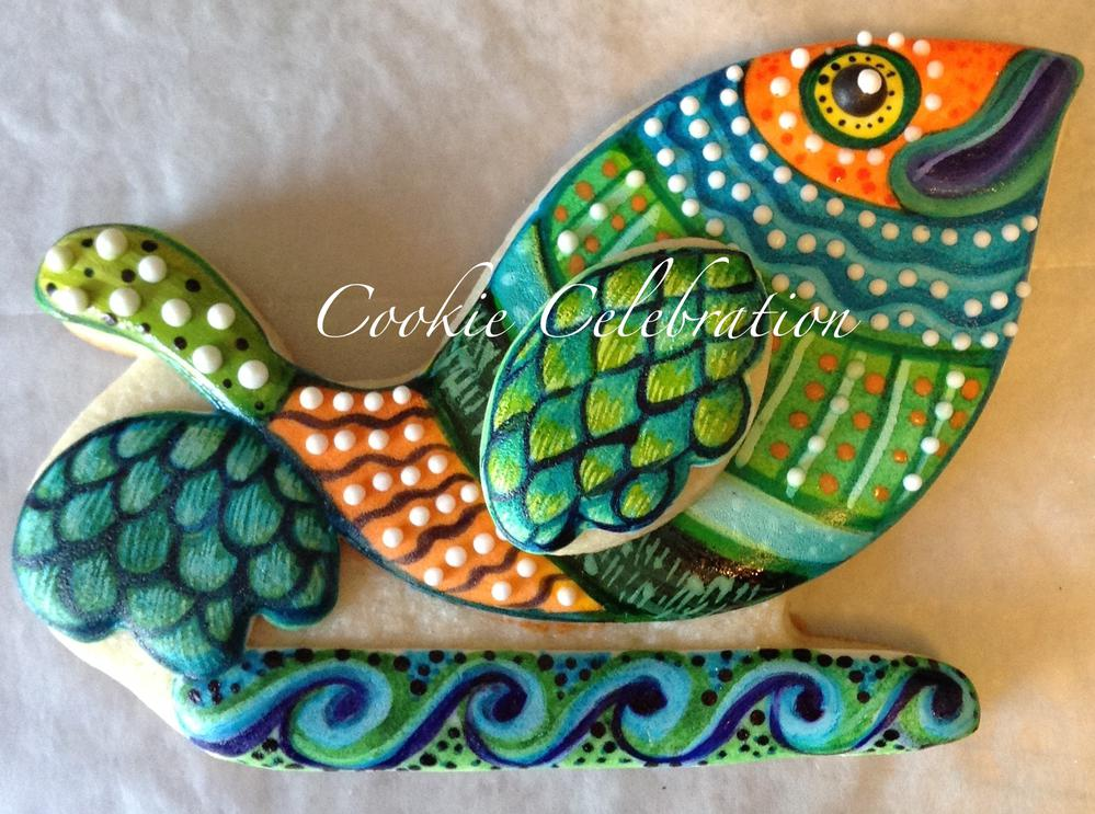 Fish by www.CookieCelebration.com