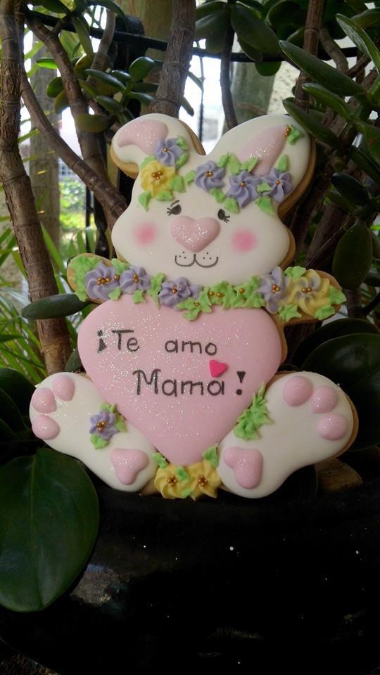 Conejita que ama a mamá