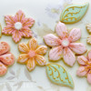 Flower Cookies for a 100th birthday