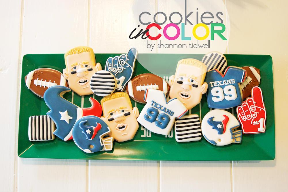 JJ Watt Cookies