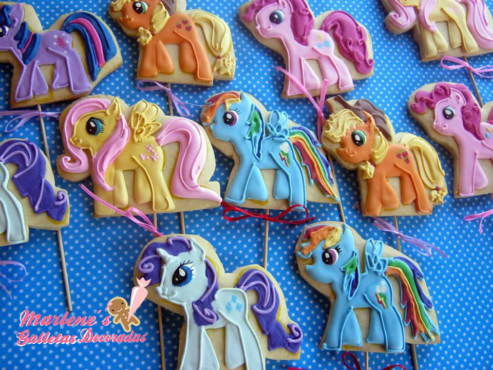 Galletas My Little Pony Cookie Connection