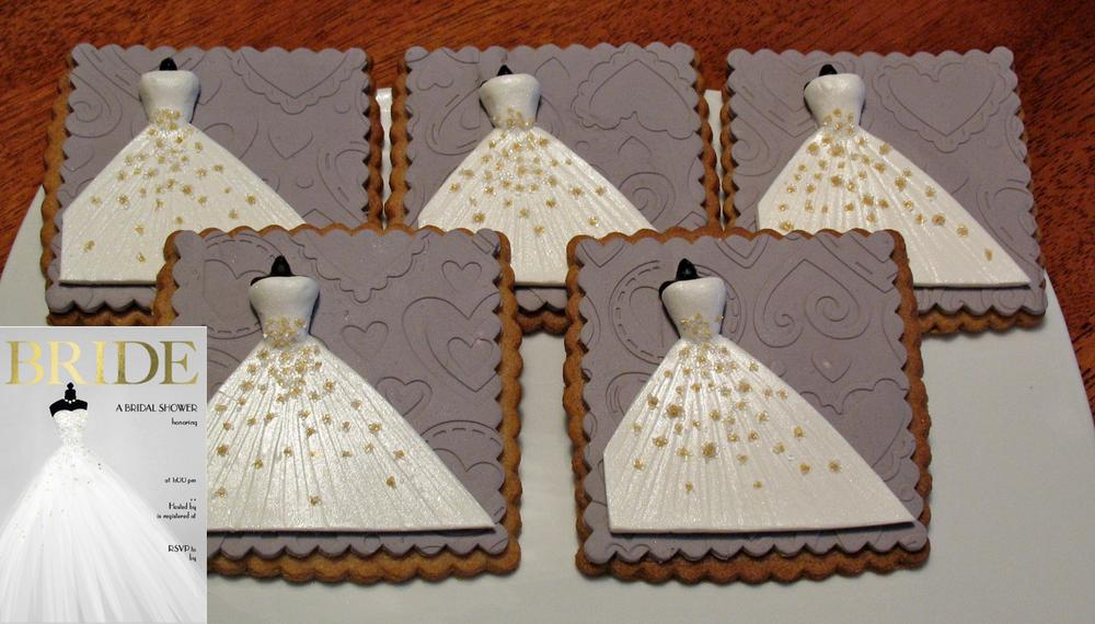 Katies Bridal Shower Cookie Favors
