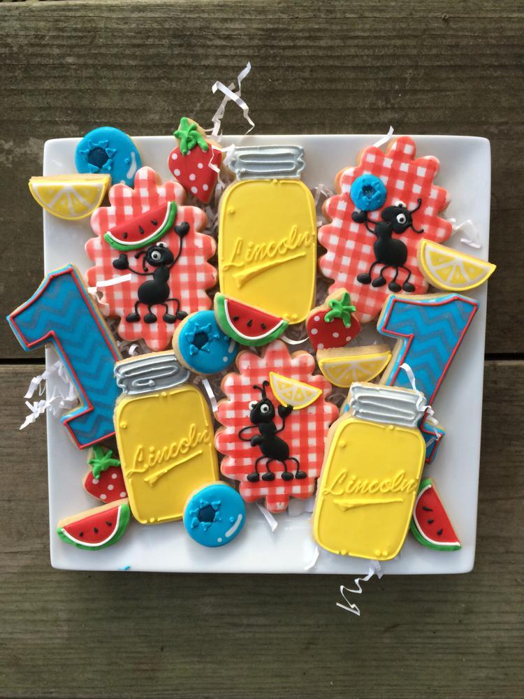Ants and lemonade Cookies