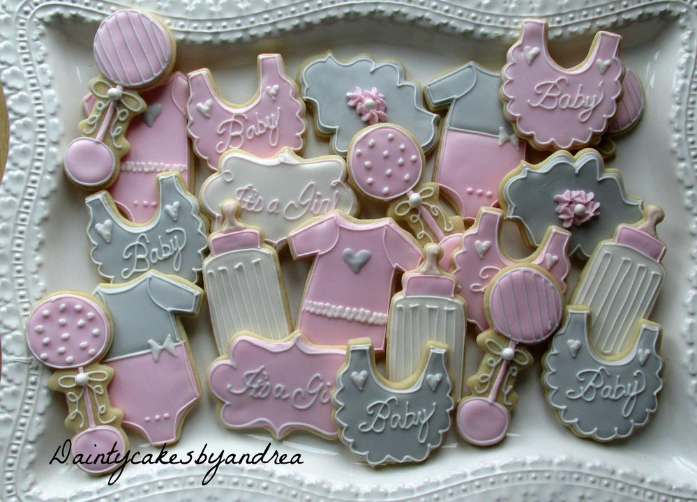 Dainty baby shower