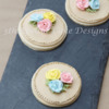 Royal Icing Toothpick Roses