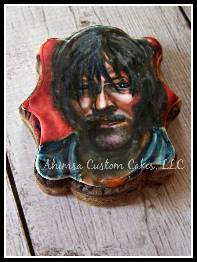 Daryl Dixon Cake Topper