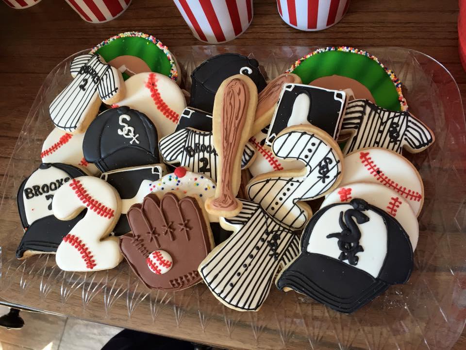 Baseball platter set