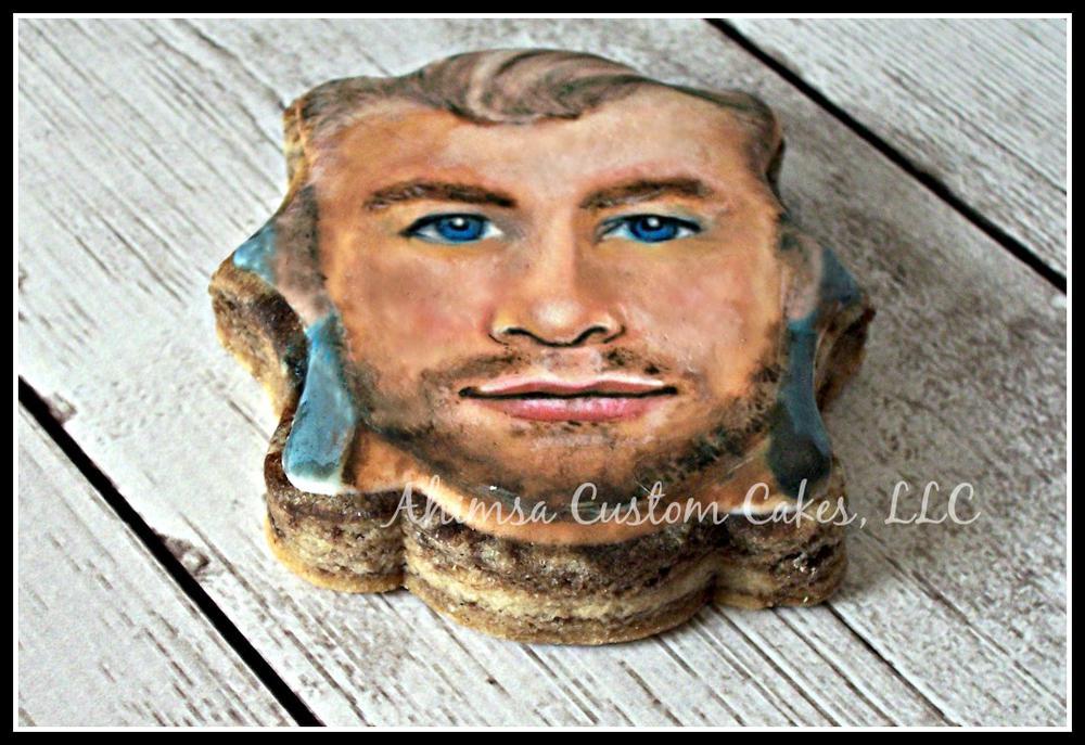Portrait cookie