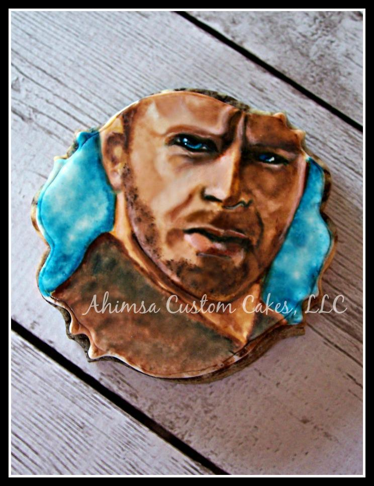 Rick Grimes ~ The Walking Dead cookies by Ahimsa Custom Cakes