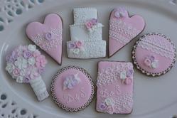 Wedding cookie set