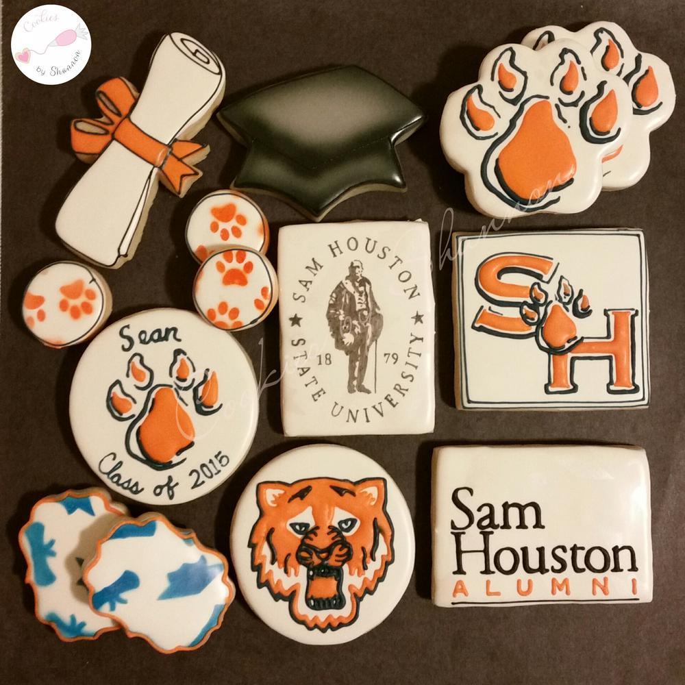 Sam Houston State Graduation Cookie Connection