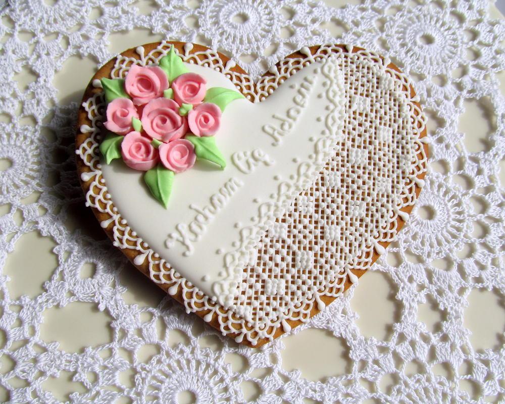Romantic anniversary heart