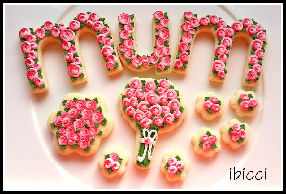 mum Mothers Day cookies