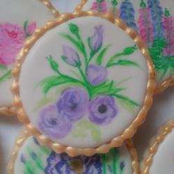 garden party cookies