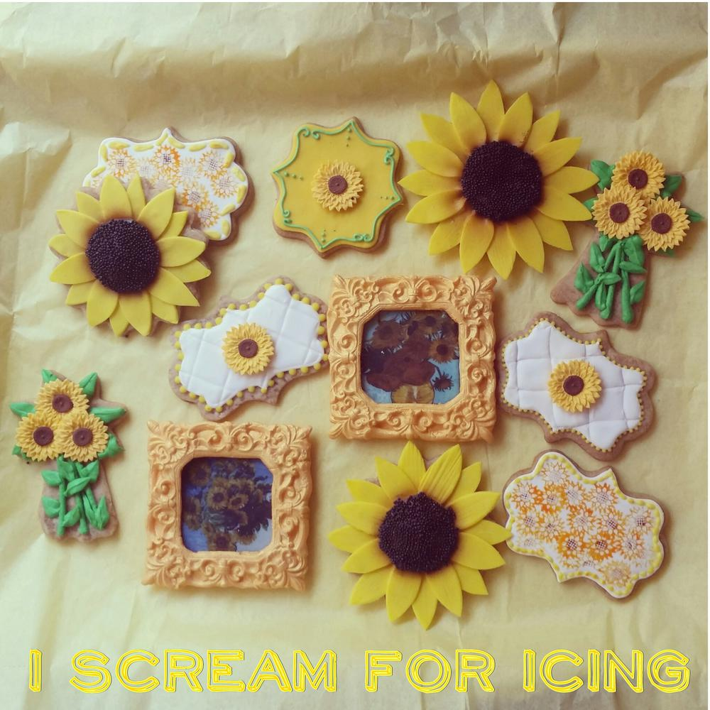Here Comes the Sun...flowers by I Scream for Icing