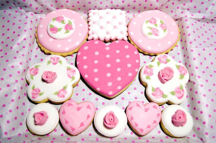 Tea-rose cookies