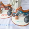 Motorcycle gingerbread