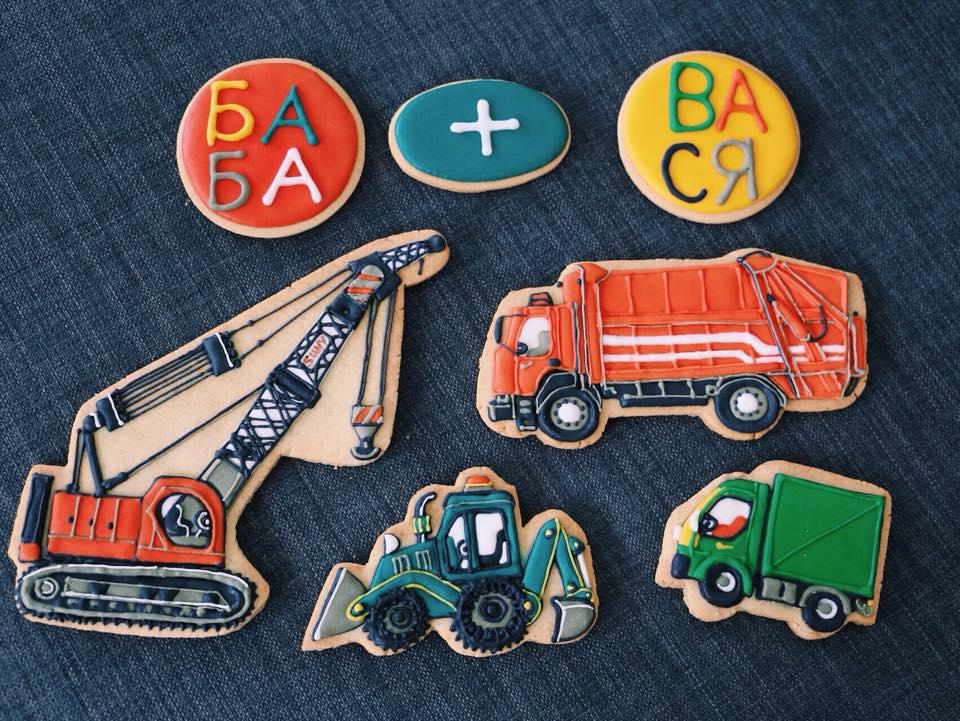 Truck cookies for my grandson!