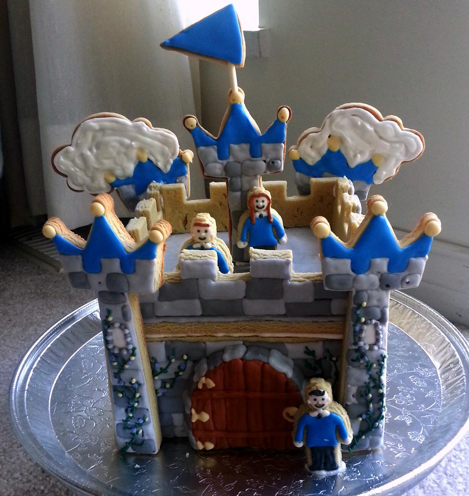 3-D Cookie Castle