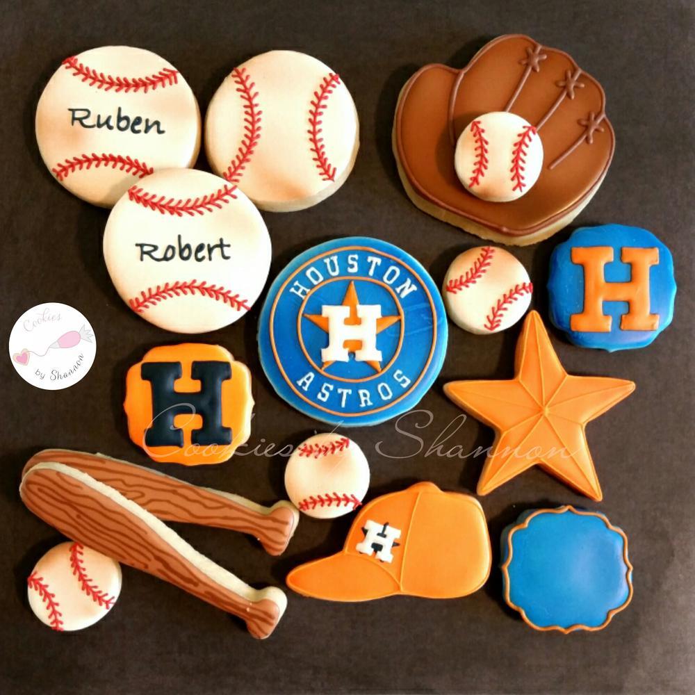Houston Astro Cookies Cookie Connection
