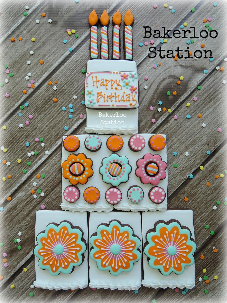 Build Your Own Birthday Cookie Cake | Bakerloo Station