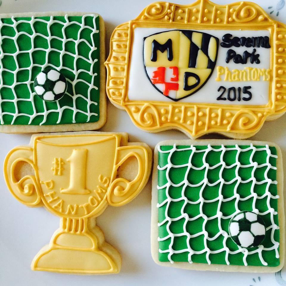 soccer cookie set