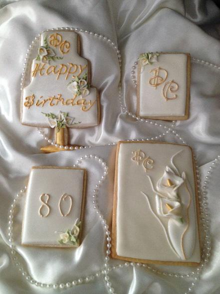 80th Birthday Set Cookie Connection