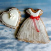 Tulle dress cookie