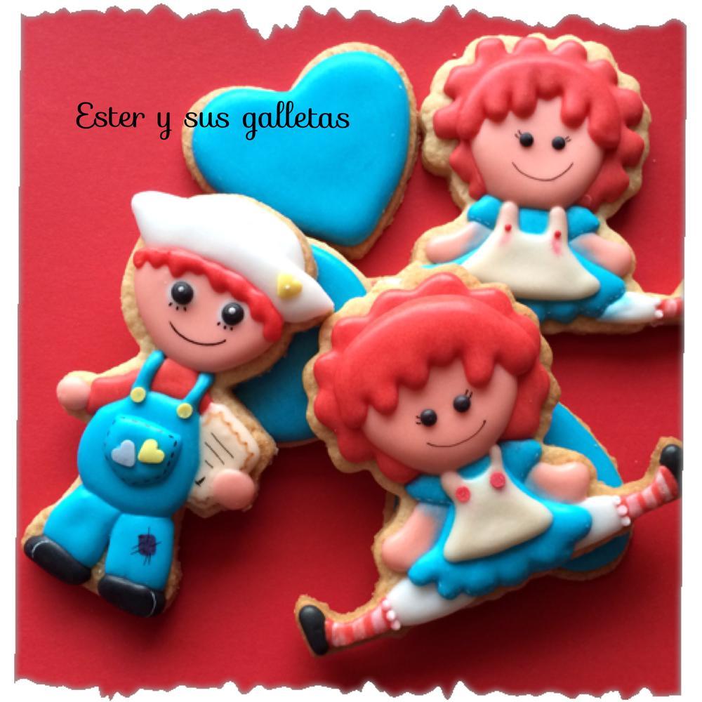 muñecas de trapoby Ester y sus galletas