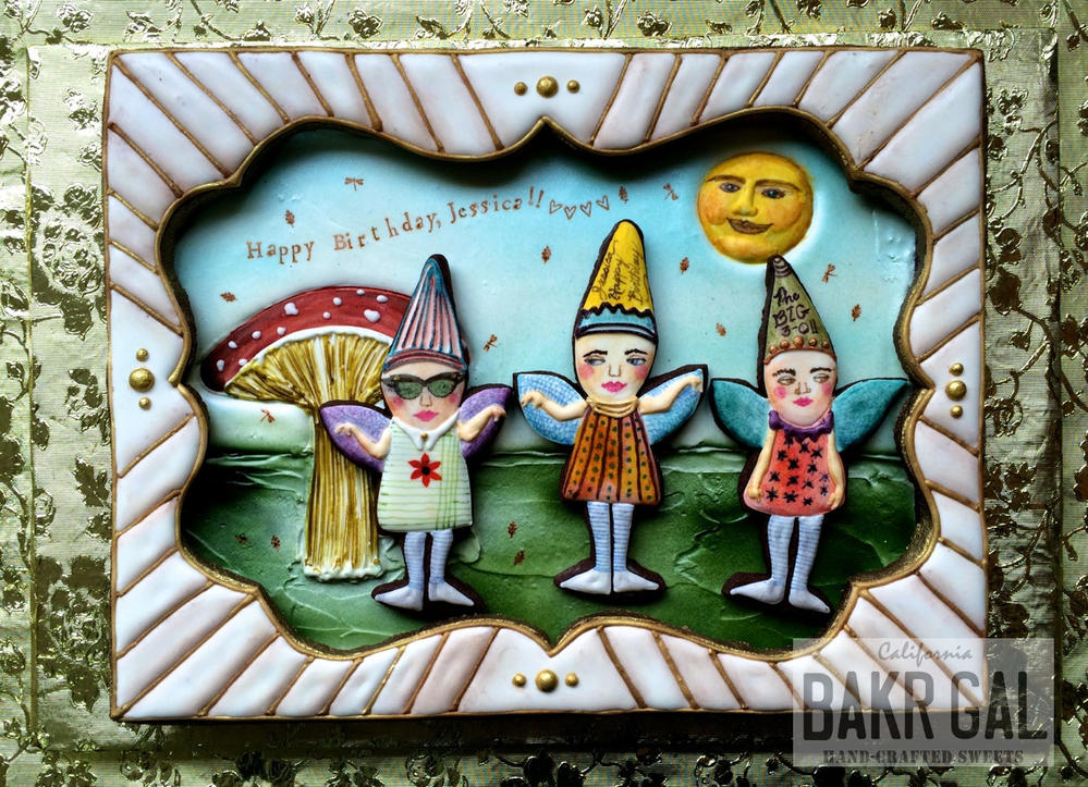 Birthday Shadow Box Cookie