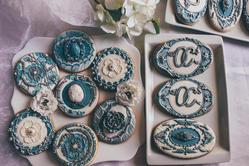 baroque wedding cookies