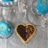The needlepoint heart