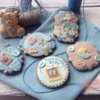 Baby boy cookie set