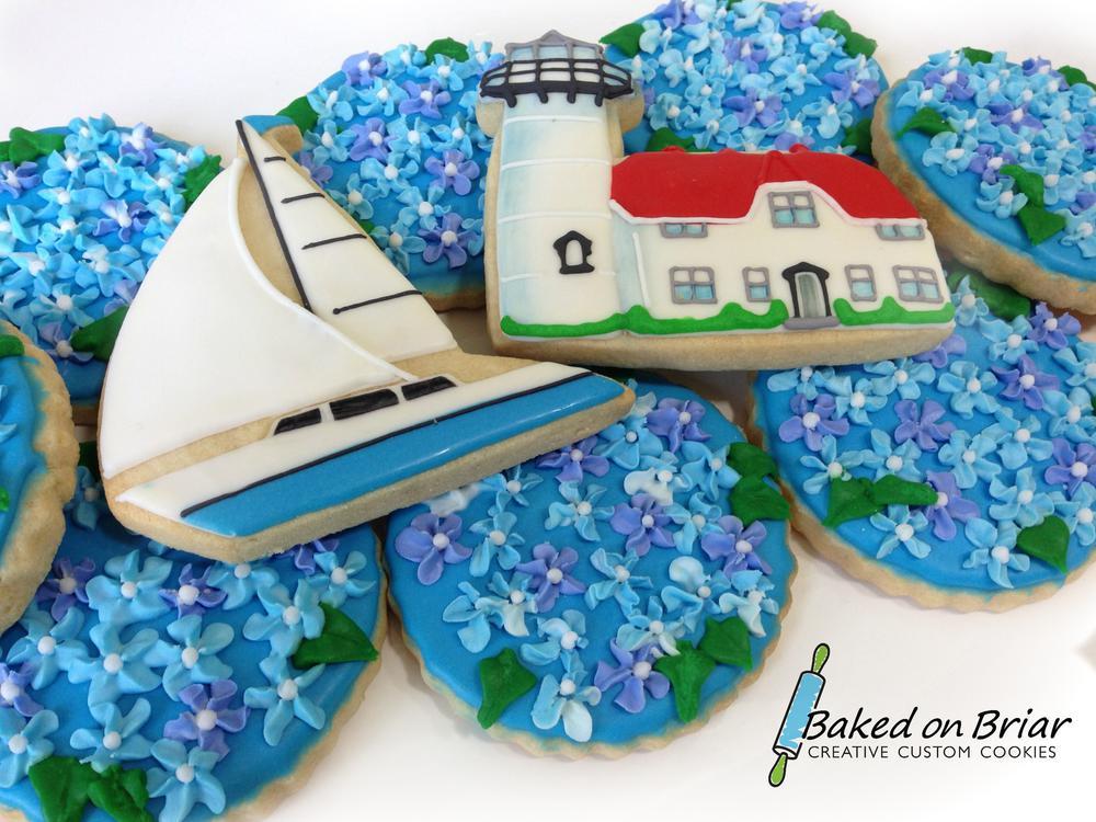 Chatham wedding cookies