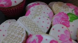 Needlepoint/Brush Embroidery Cookies