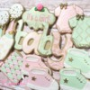 Pink, Green & Gold Baby Shower