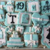 Tiffany Birthday Cookies