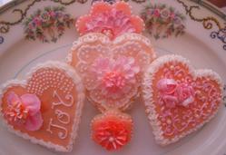 Wedding cookies, Cindy Gonzales