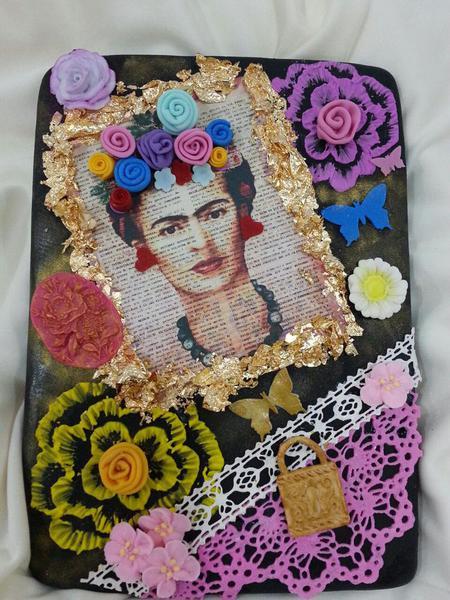 Frida Kahlo Cookie Tribute